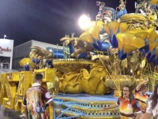 Abre-alas do Rosas de Ouro no Desfile das Campeãs (2017) - Foto de Cassius S. Abreu