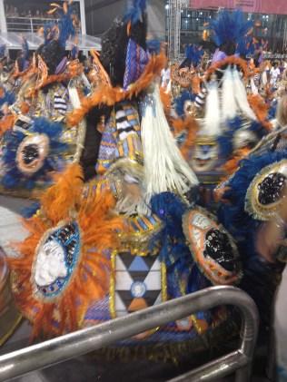 Ala das baianas do Tatuapé no Desfile das Campeãs (2017) - Foto de Cassius S. Abreu