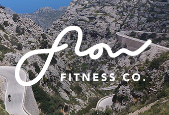 fitness travel brand identity