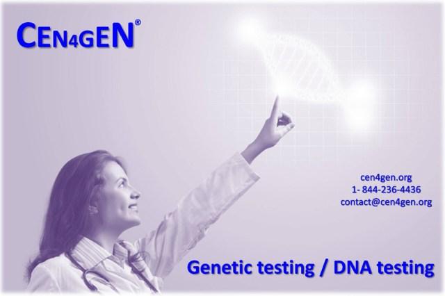 CEN4GEN: Genetic testing | Genome Medicine | Personalized medicine | DNA testing | Precision medicine