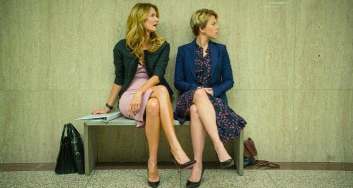 Laura Dern e Scarlett Johansson em História de um Casamento (2019)