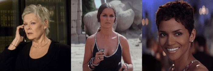Judi Dench, Barbara Bach e Halle Berry já foram espiãs na franquia 007
