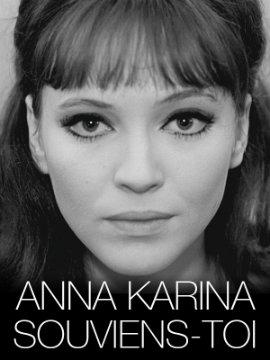 Poster Anna Karina souviens-toi, de Dennis Berry