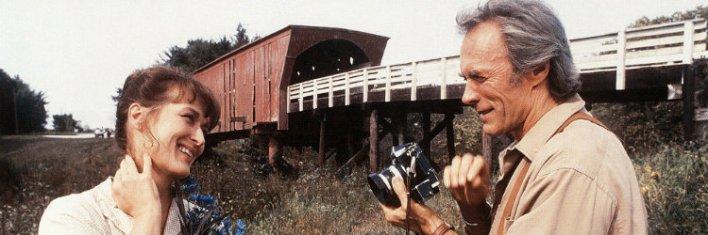 Meryl Streep e Clint Eastwood em As Pontes de Madison