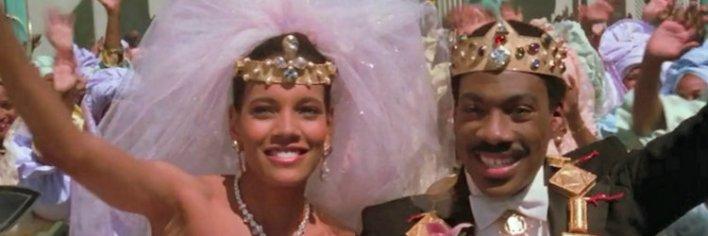 Shari Headley em Um Príncipe em Nova York é uma das noivas