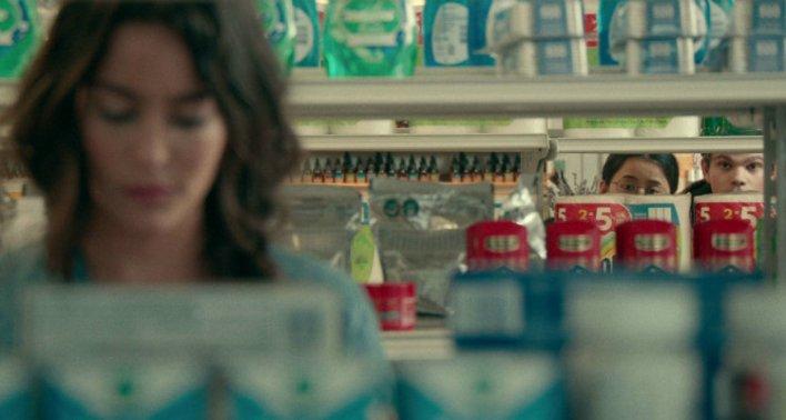 Leah Lewis, Daniel Diemer e Alexxis Lemire em Você Nem Imagina (The Half of It, de 2020)