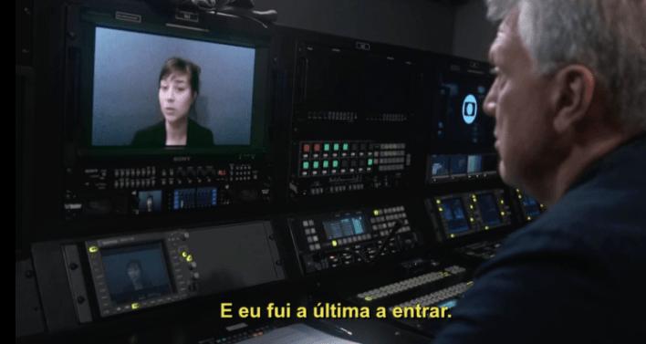 Pedro Bial entrevista Zahira Mous em Em Nome de Deus (2020)
