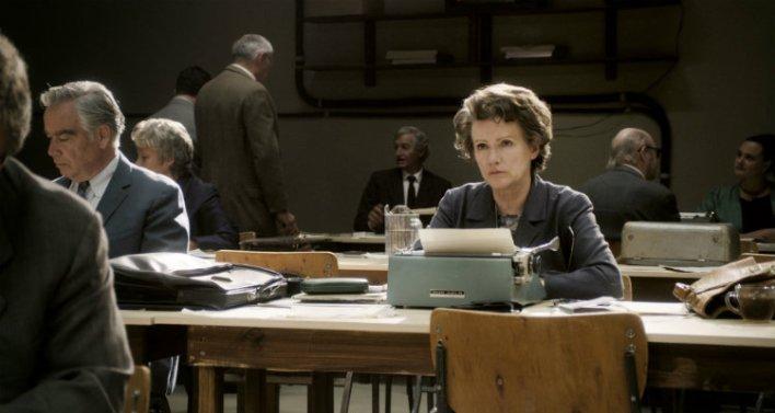 Barbara Sukowa em Hannah Arendt: Ideias Que Chocaram o Mundo