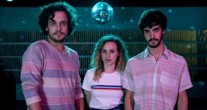 Victor Mendes, Mayara Constantino e Caio Horowicz em Música para Morrer de Amor (2019)