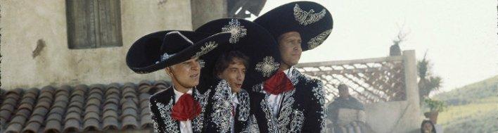 Comédia faroeste Três Amigos (1986)