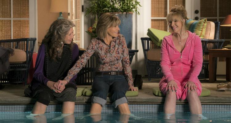Lily Tomlin, Jane Fonda e Lisa Kudrow em Grace e Frankie