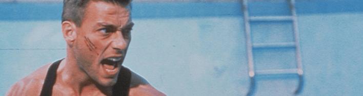 Jean-Claude Van Damme em Leão Branco, o Lutador sem Lei (1990)
