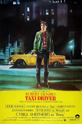 Poster internacional de Taxi Driver