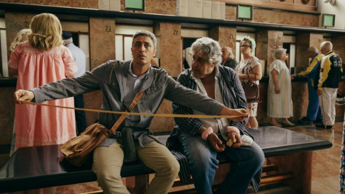 Filme italiano Momentos de Felicidade Insignificante, com Pif