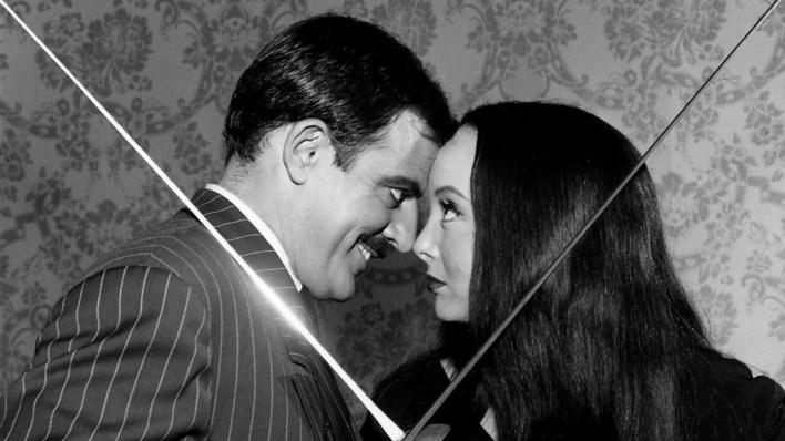 Casais da ficção: Mortícia e Gomez