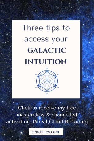 access your galactic intuition