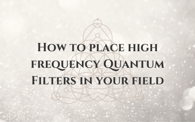 How to Place High-Frequency Quantum Filters in Your Field