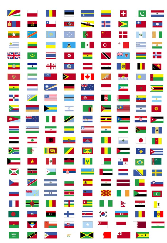 Find the flags of the world Quiz - By CeNedra