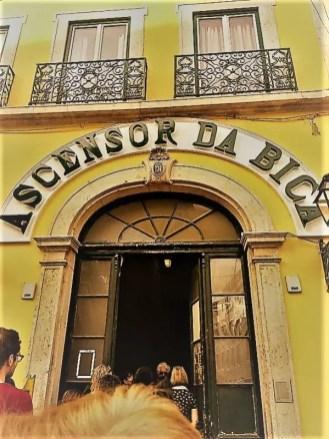 Ascensor De -Bica