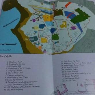 Byblos Haritası