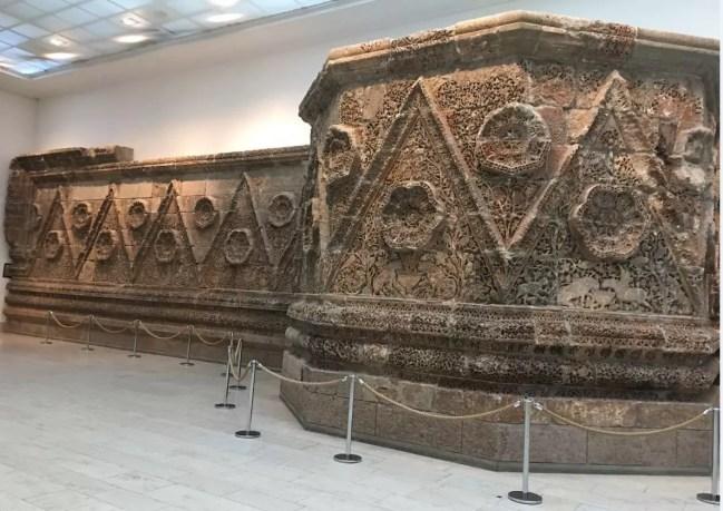 Mshatta, Pergammon, Berlin