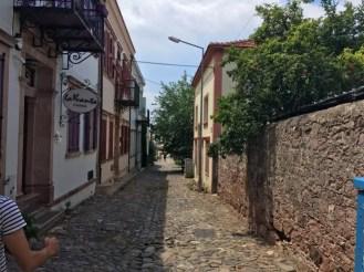 Cunda sokakları