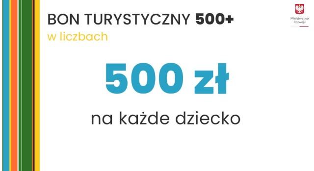 bon turystyczny 500+ 500 plus