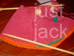 Knitted Bag upclose