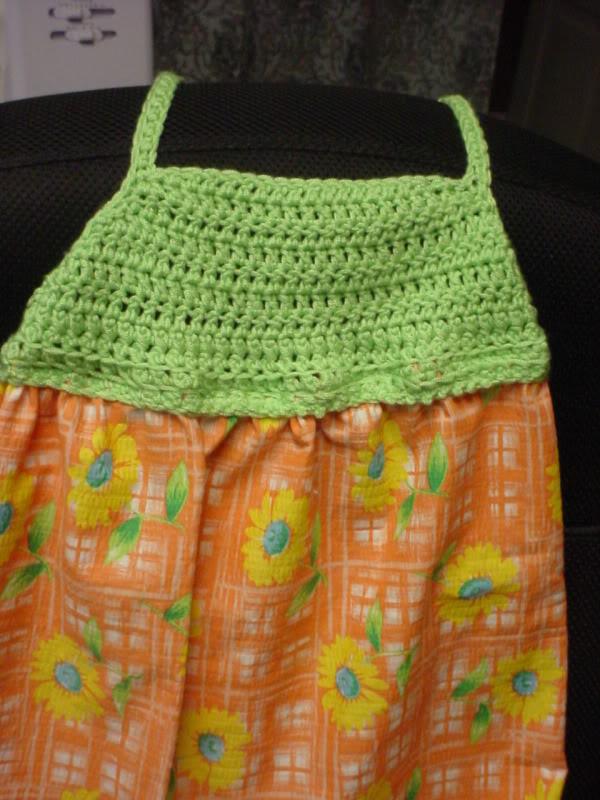 Crocheted Sundress Top