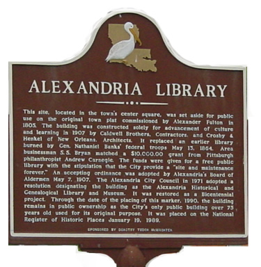 library-sign