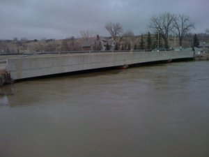 Qu'Appelle Valley Flood 15th April 2011