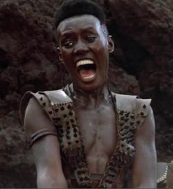 Grace Jones as Zula in Conan the Destroyer