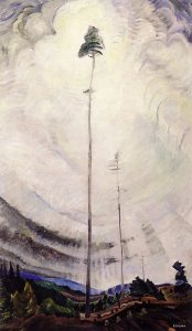"""Emily Carr's """"Scorned as Timber Beloved of the Sky"""""""