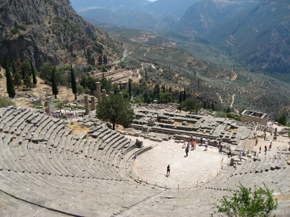 Theatre at the Temple of Apollo