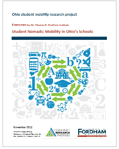 Ohio student mobility research project cover