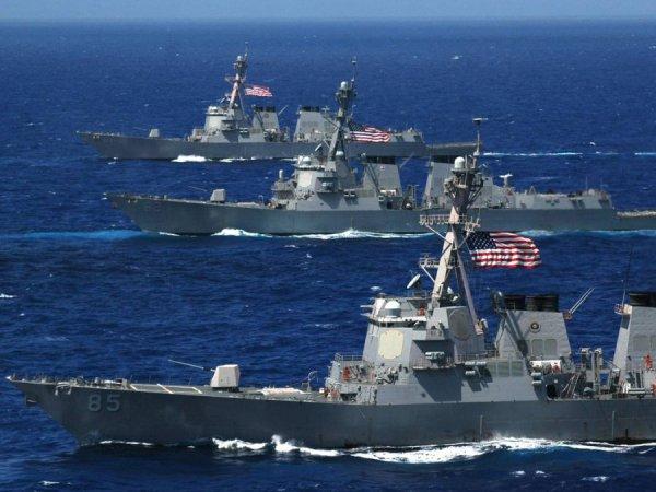 Image result for американский флот направляется к корее