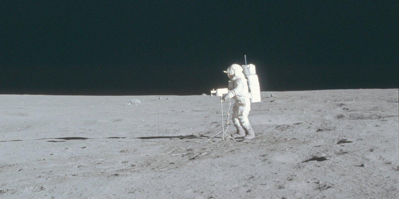 Un morceau de la Terre sur la Lune