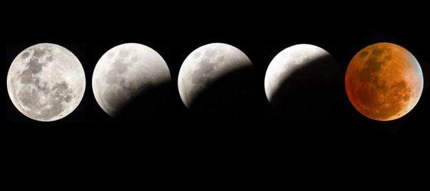 Ne manquez pas l'éclipse lunaire!