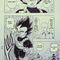 One Punch Man's Saitama Meets Dragon Ball Z's Vegeta