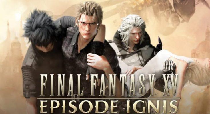 Final Fantasy XV: Episode Ignis Splash Screen