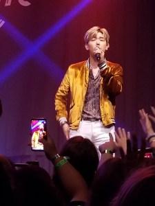 Eric Nam performing at the Buckhead Theatre in 2018.