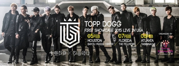 Topp Dogg US Showcase 2015