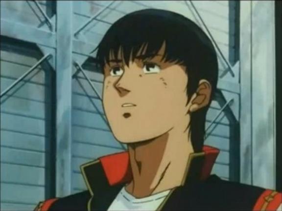 Kou Uraki from 0083: Stardust Memory