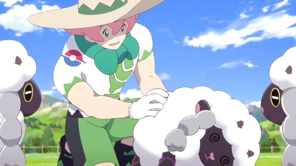 Milo and Wooloo from Pokémon: Twilight Wings