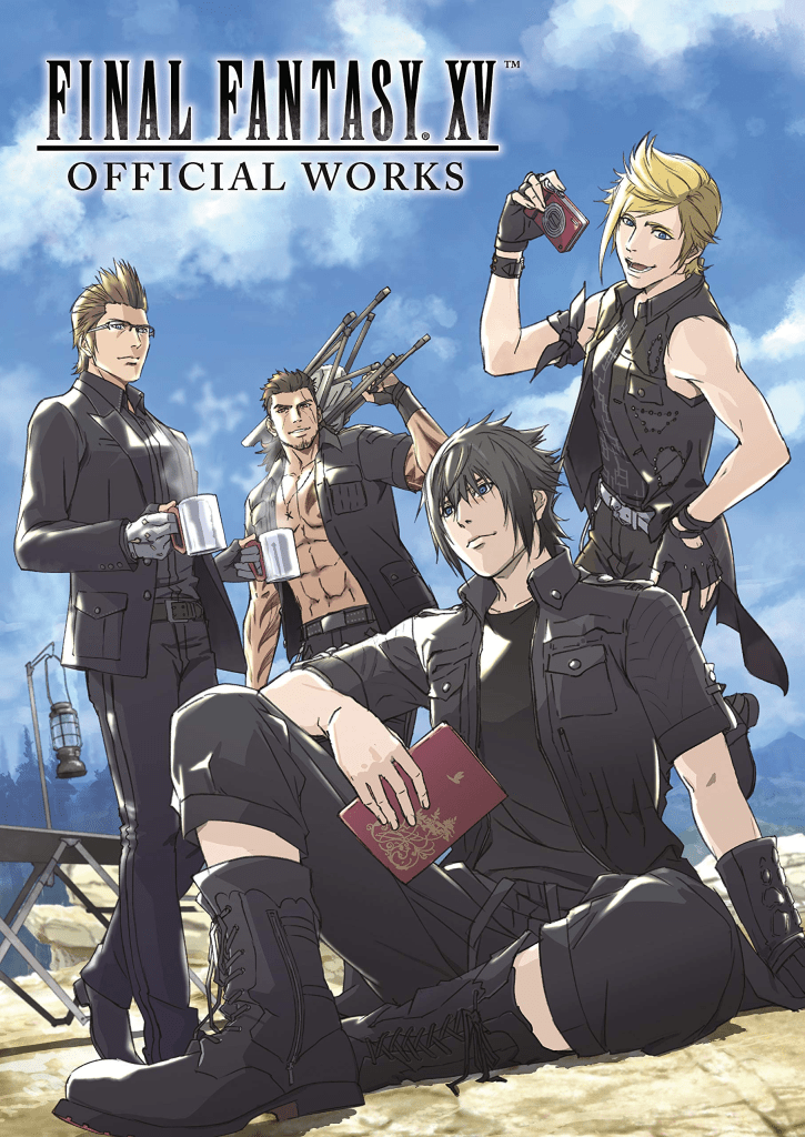 "Cover of ""Final Fantasy XV: Official Works"""