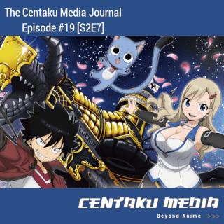 Episode Art for Centaku Media Journal: Episode 19 featuring Edens Zero