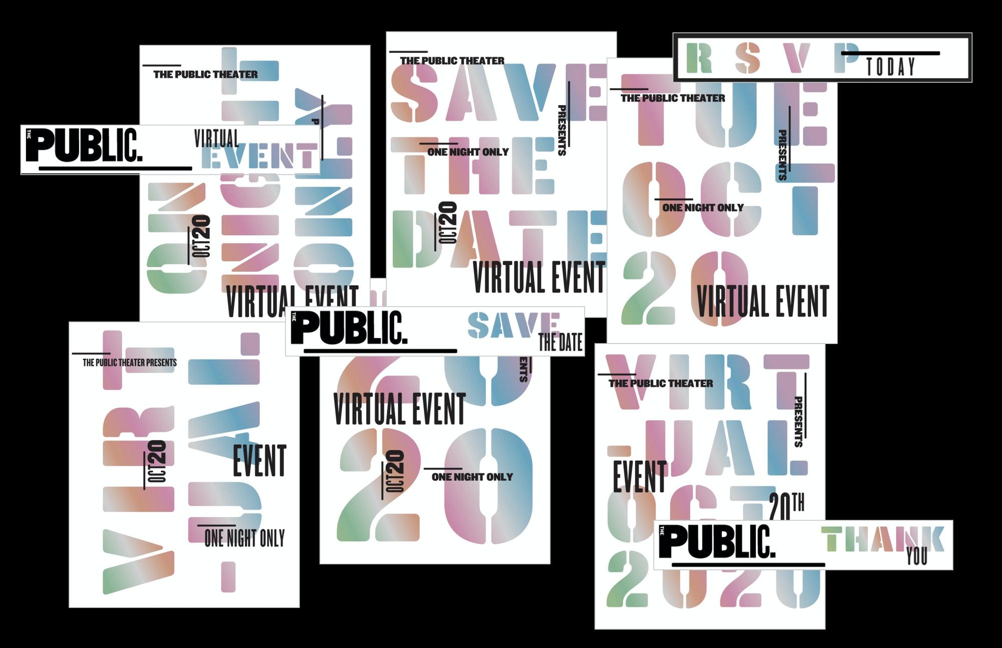 Paula Scher Public Theater 2020 2021