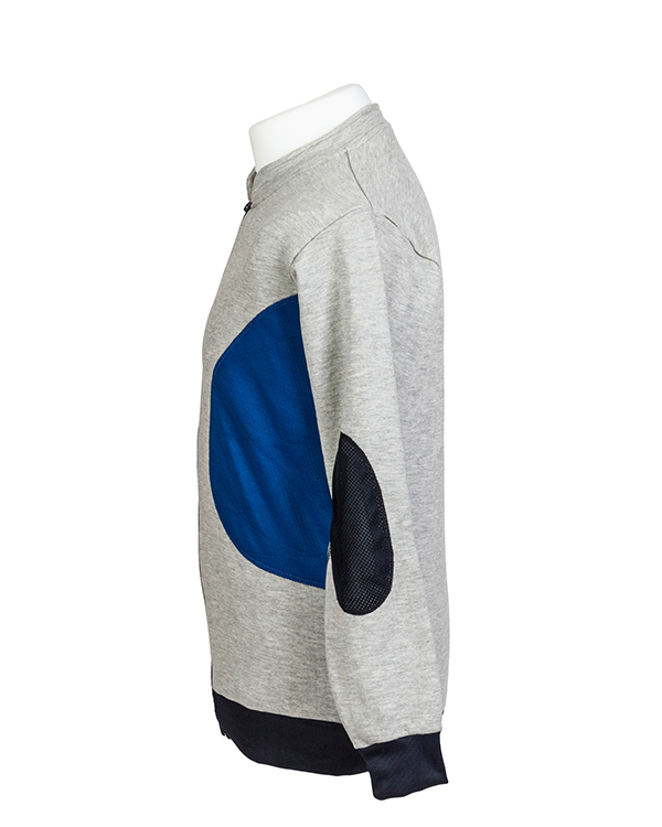 Padded target shooting jumper by Centaur Target Sports - Left side view