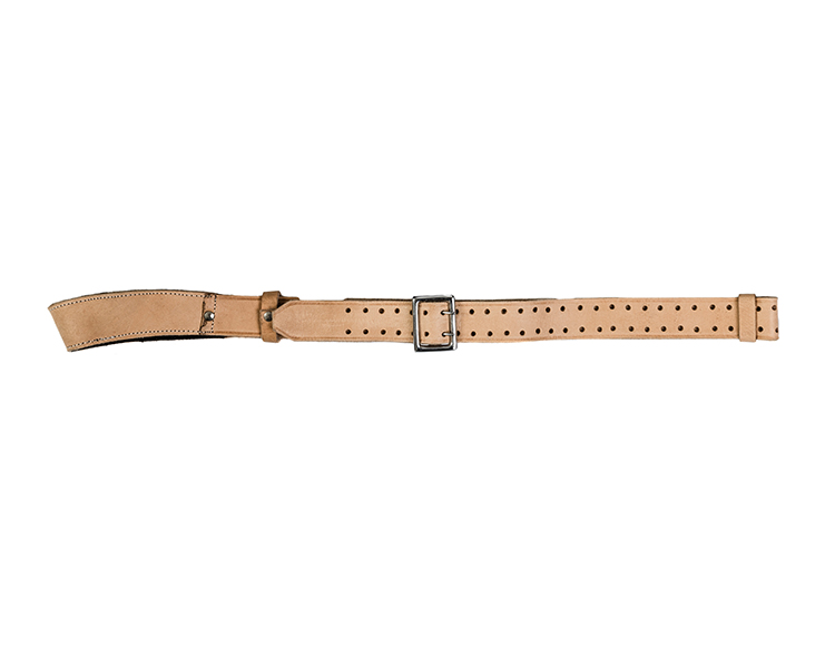 Centaur leather single point target rifle sling - main view