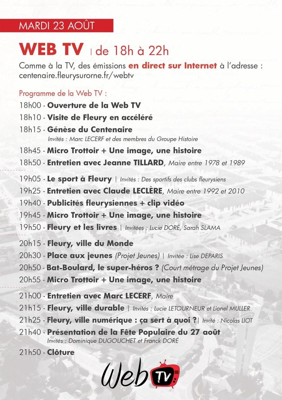 Programme WebTV